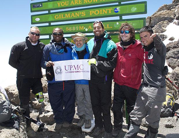 Maroon Reaches Summit of Mt  Kilimanjaro | Neurosurgery | University