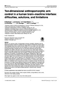 Journal of Neural Engineering