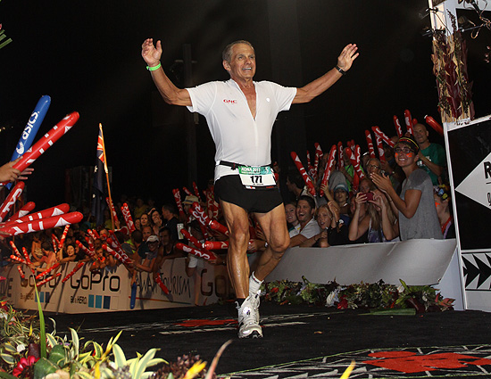 Maroon Finishes 2013 Ironman